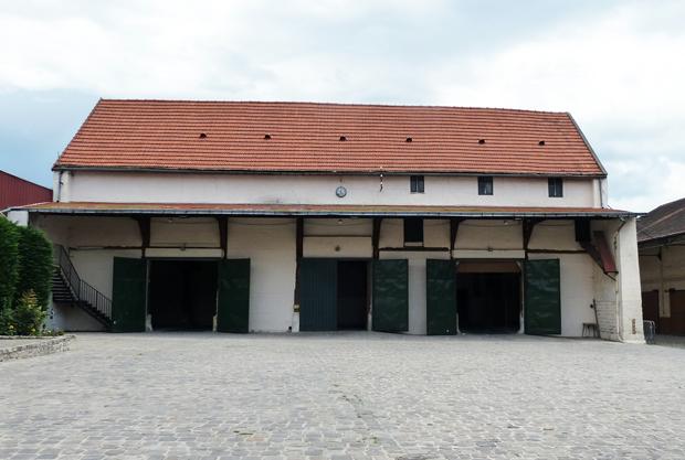 scénique sur le site de la Ferme du VieuxPays à AulnaysousBois ~ Ferme Du Vieux Pays Aulnay Sous Bois